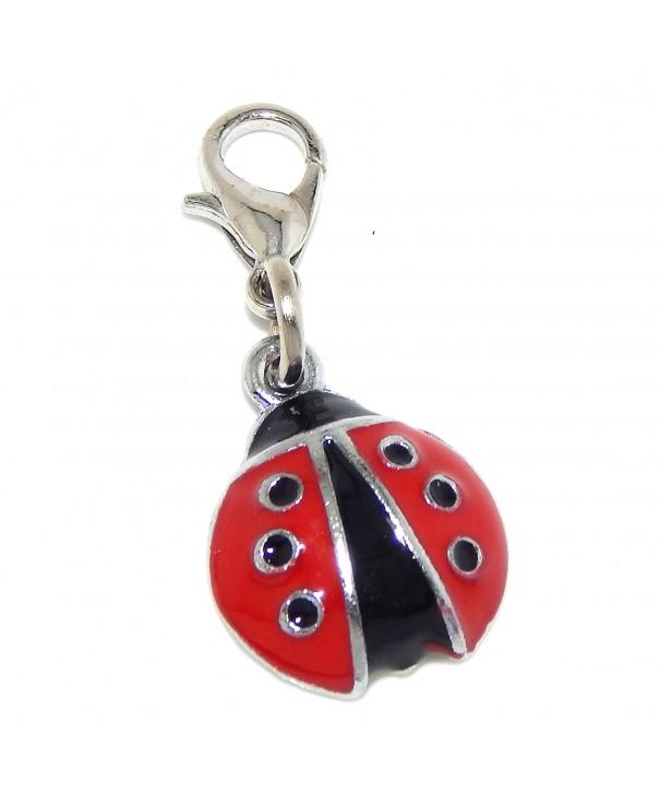 Jewelry Monster Clip Black Ladybug