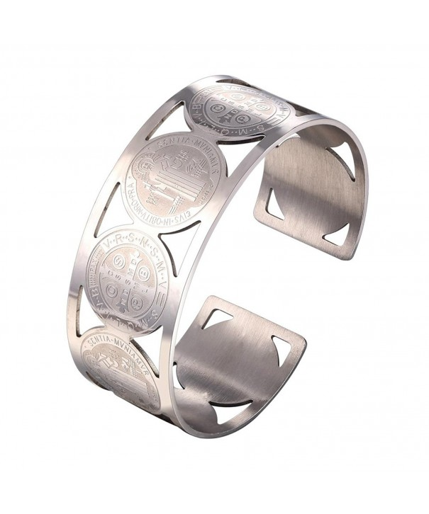 Women Bangle Stainless Benedict Bracelet