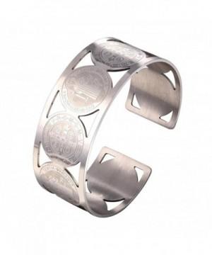 Women Bangle Stainless Benedict Bracelet
