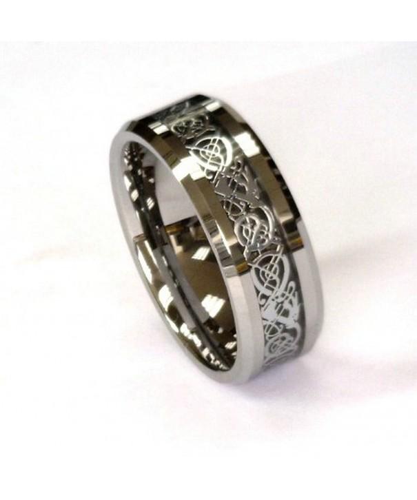 Silver Celtic Tungsten Carbide CJTU267 11 5