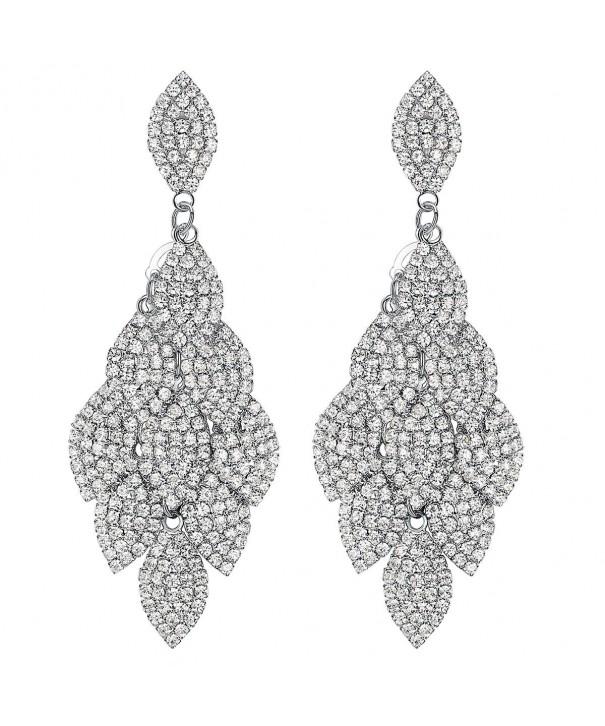mecresh Laminated Wedding Earrings Bridesmaids