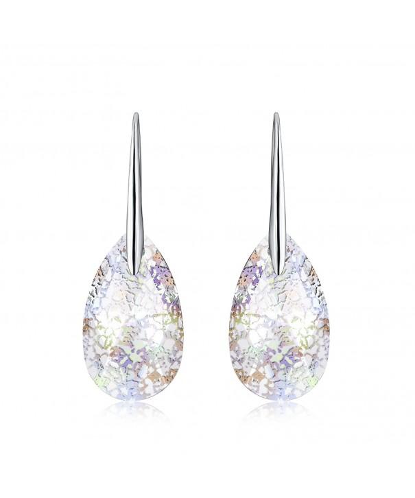 Osiana Teardrop Earrings Swarovski Crystals