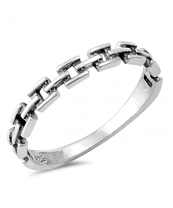 Oxidized Fashion Sterling Silver RNG16440 5