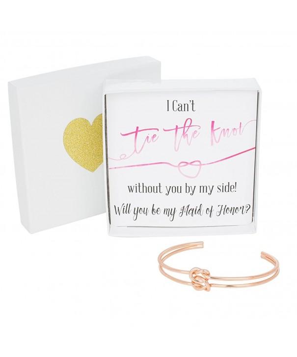 Bridesmaid Gifts Bracelet Double Wedding