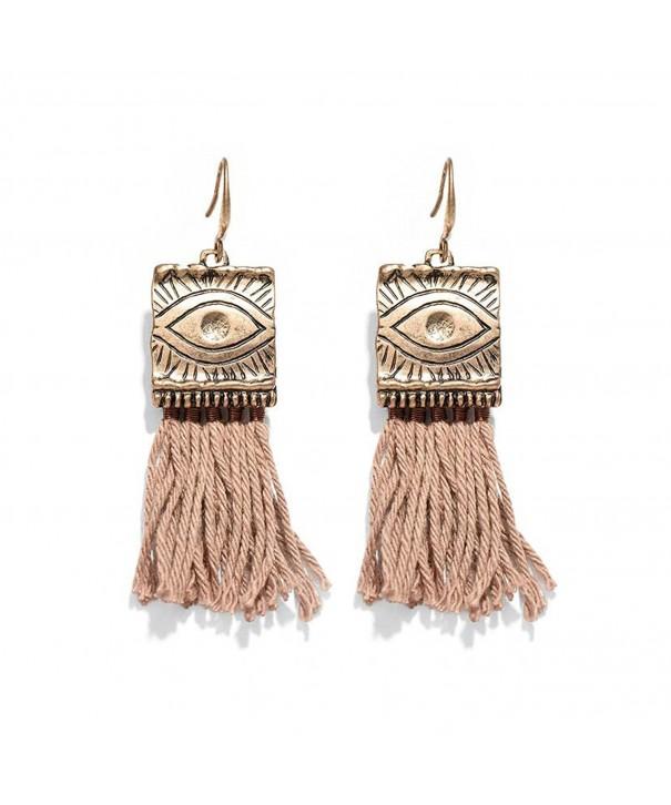 Fashion tassels Earrings HIYOU Home Bohemian