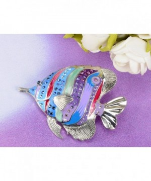 fd1c68bb5 Alilang Multicolored Rhinestones Tropical Colorful; Women's Brooches & ...
