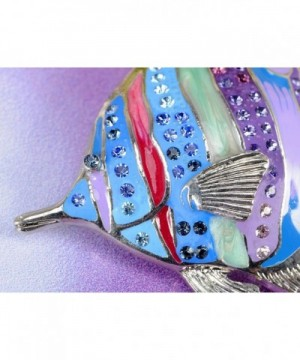 c6b25667d Available. Alilang Multicolored Rhinestones Tropical Colorful; Women's  Brooches & ...