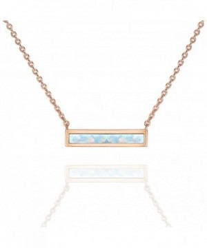 PAVOI Plated White Necklace 16 18