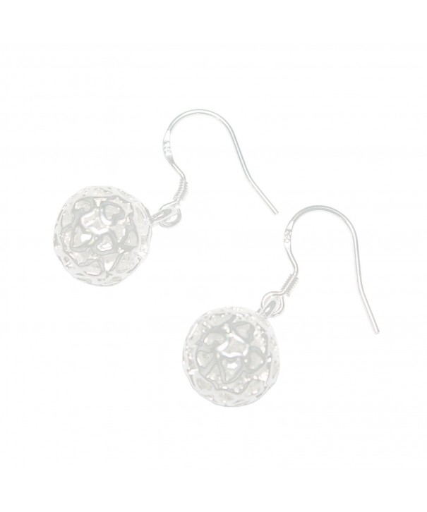 Scheppend Pierced Sterling Silver plated Earrings