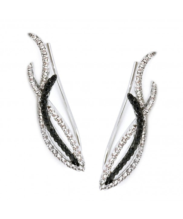Earrings Climber Crawler Plated Fashion