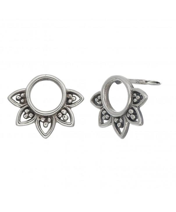 Boma Sterling Balinese Filigree Earrings