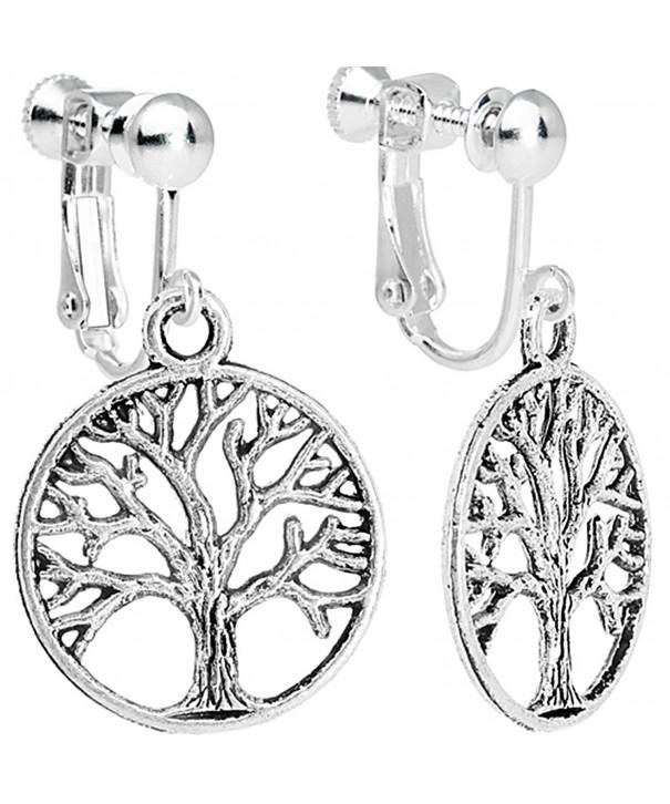 Body Candy Tree Dangle Earrings