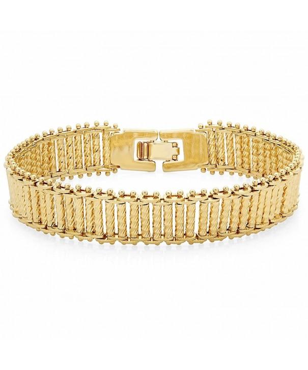 Yellow Diamond Cut Bracelet Jewelry Polishing