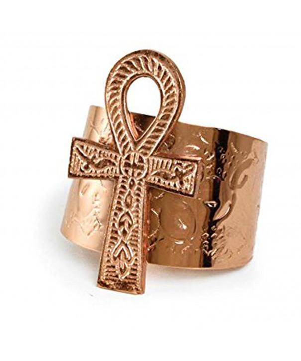 Ankh Cuff Copper