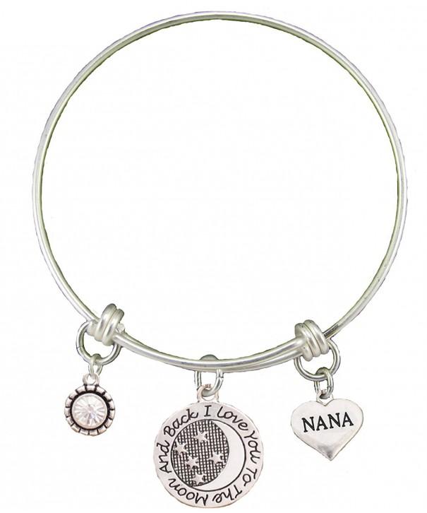 Silver Adjustable Bracelet Heart Jewelry