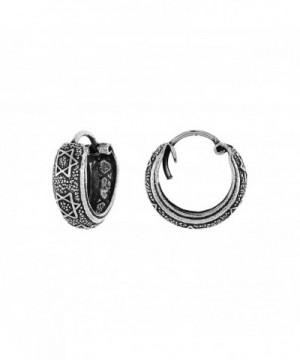 Sterling Silver Hinged Earrings Pattern
