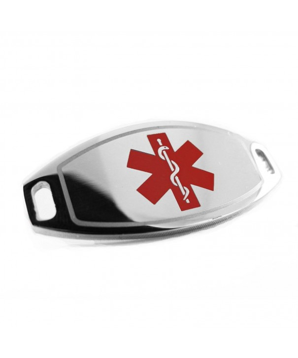 MyIDDr Pre Engraved Customized Diabetic Attachable