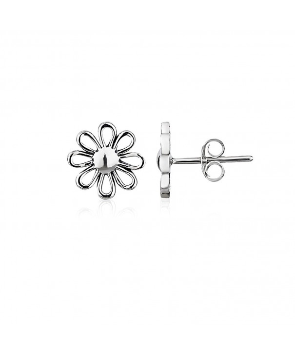 Sterling Minimalist Friction Backing Earrings