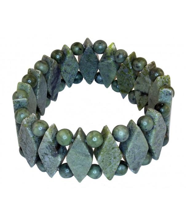 Connemara Marble Diamond Shaped Bracelet