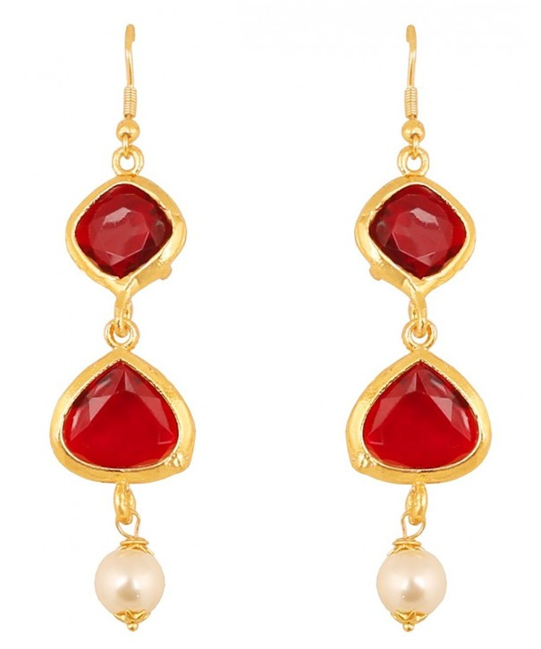 Touchstone Bollywood Exclusive Designer Earrings