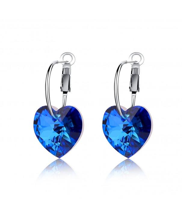 LadyRosian Sterling Earrings Swarovski Crystals