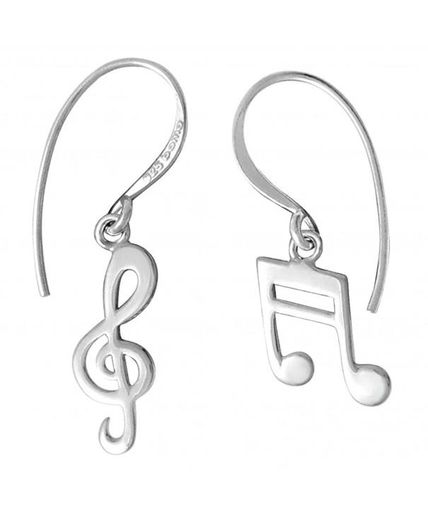 Boma Sterling Silver Treble Earrings