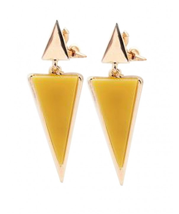 CNCbetter Fashion Jewelry Triangle Colorful
