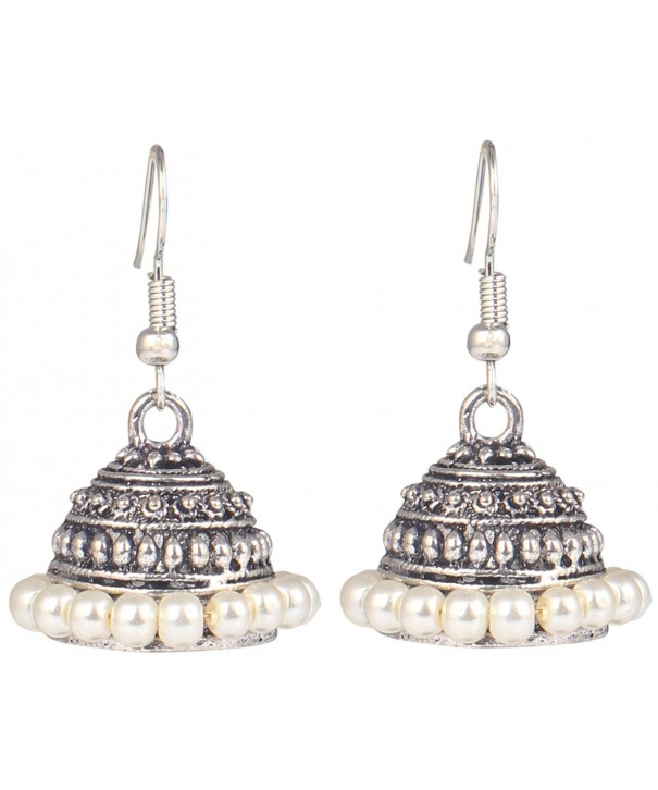 Sansar India Lightweight Jhumkas Earrings