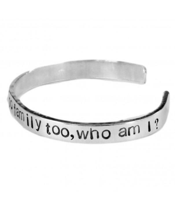 Orphan Black Inspired Aluminum Bracelet