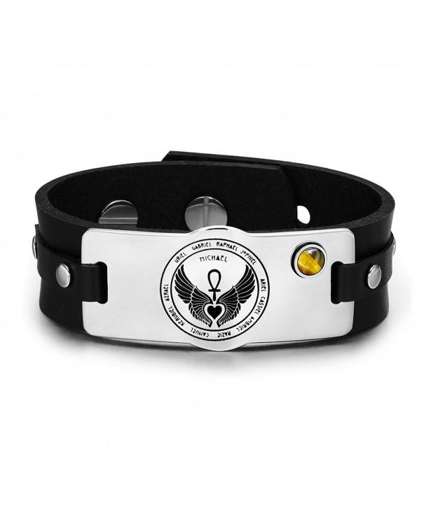 Archangels Guardian Gemstone Adjustable Bracelet