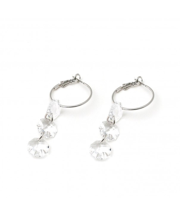 Delice Delight Earrings Paris Silver Swarovski