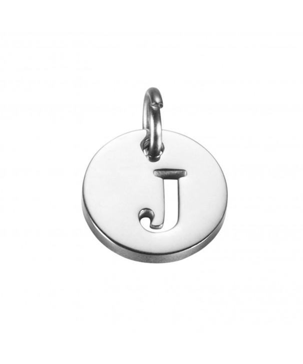 Initial Charm Necklace Bracelet Pendant