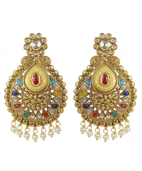 MUCHMORE Fashion Earrings Bollywood Jewelry