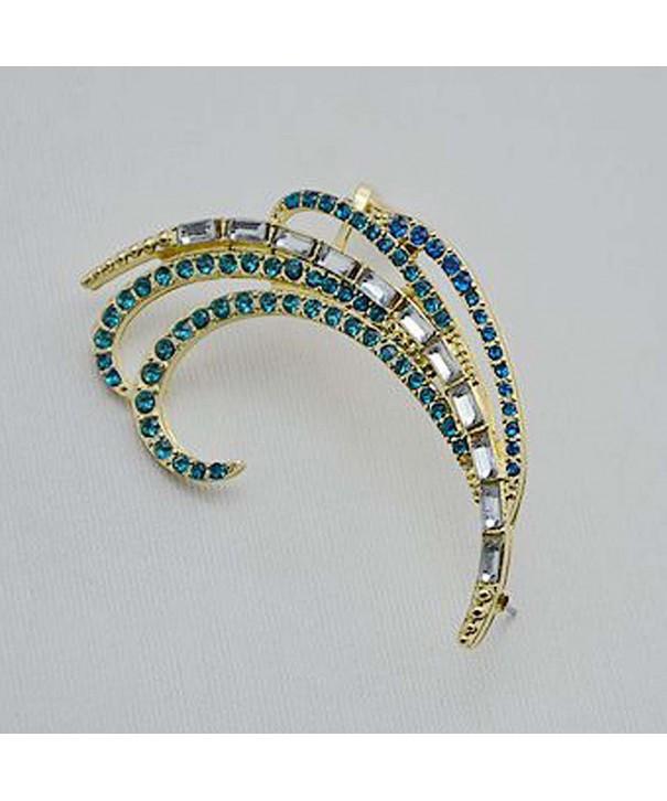YAZILIND Vintage Elegant Green Earrings
