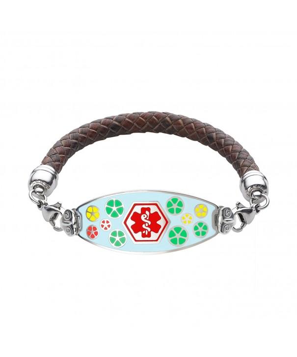 Divoti Engraved Palette Bracelet Red 7 0