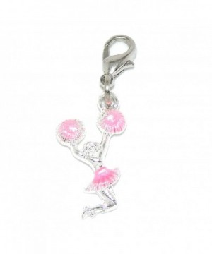 Pro Jewelry Dangling Cheerleader Bracelet