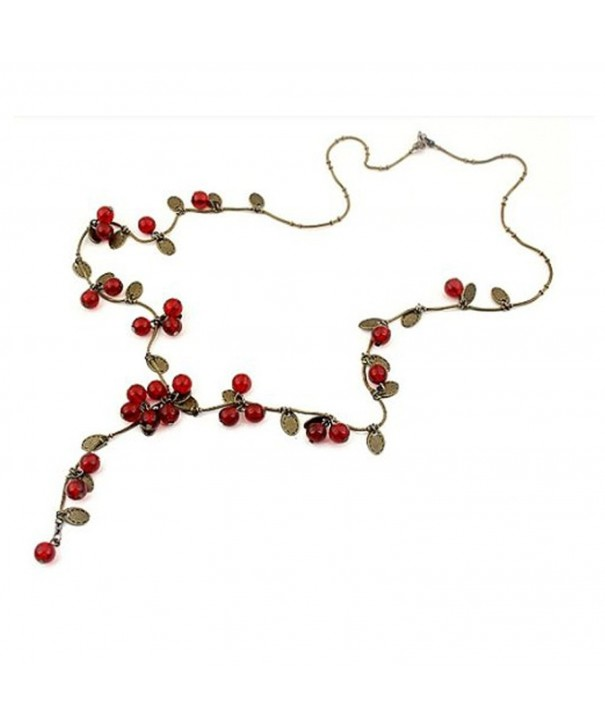 TOPSTARONLINE Tabasco Cherry Sweather Necklace