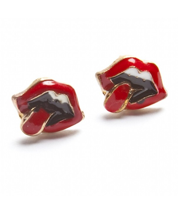 Vintage Rock Tongue Earring Jewelry