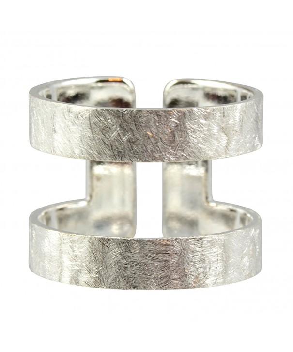 AppleLatte Double Silver Plated Adjustable