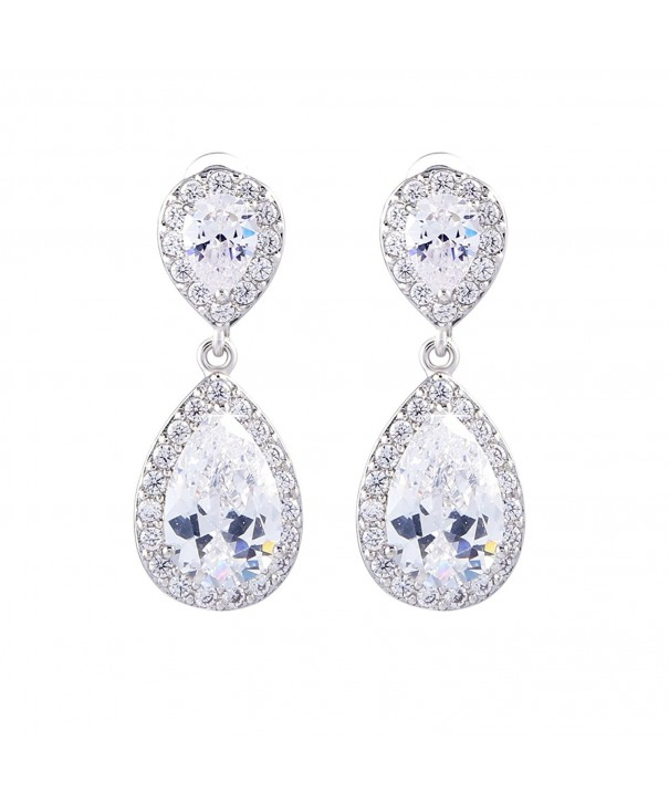 GULICX Sapphire Zirconia Flawless Earrings