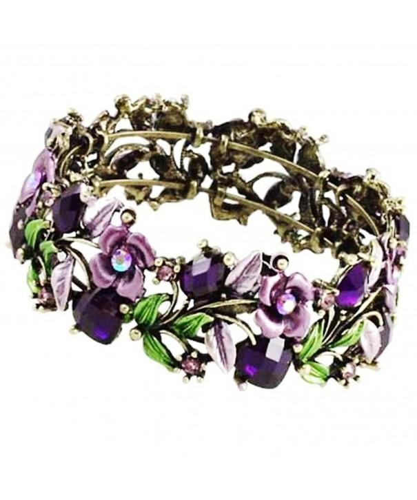 DianaL Boutique Gorgeous Bracelet Enameled