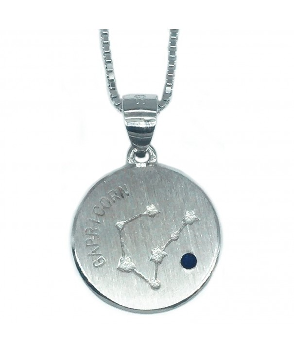 Helen Lete Constellation Sterling Necklace capricorn