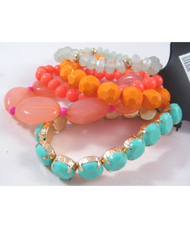 Piece Bracelet Coral Orange Cato