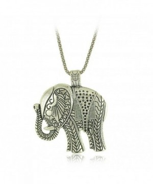 Elephant Explosion exaggeration fashion necklace