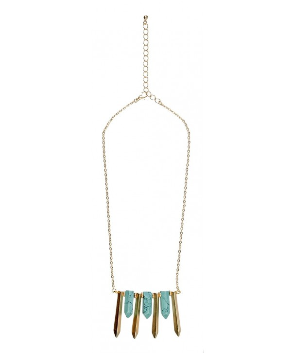 Southwestern Jewelry Turquoise Statement Necklace