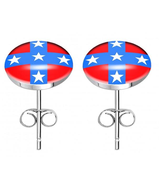 Stainless steel fashion earrings rebel