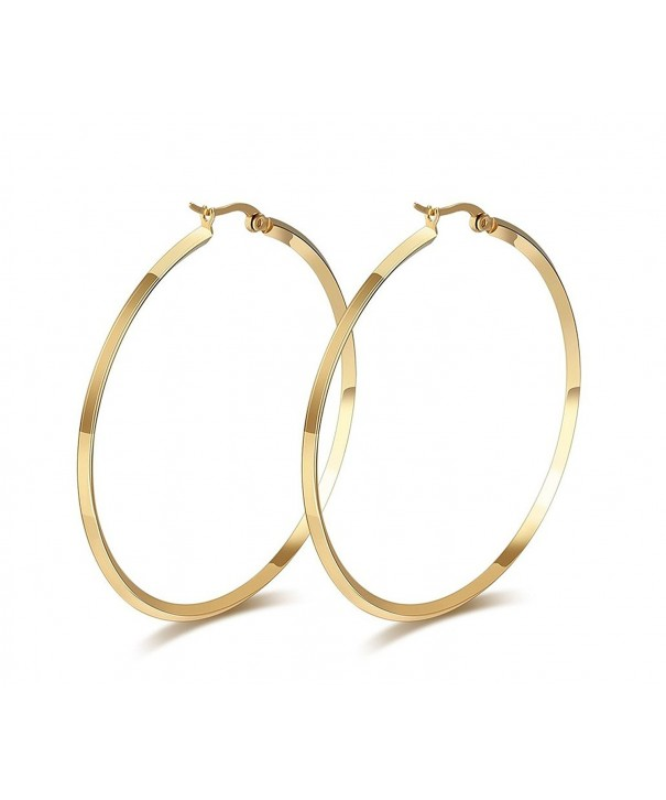 Titanium Stainless Charming Simple Earring