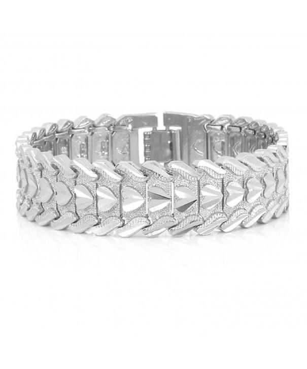 Bracelet Romantic Jewelry Platinum Wristband