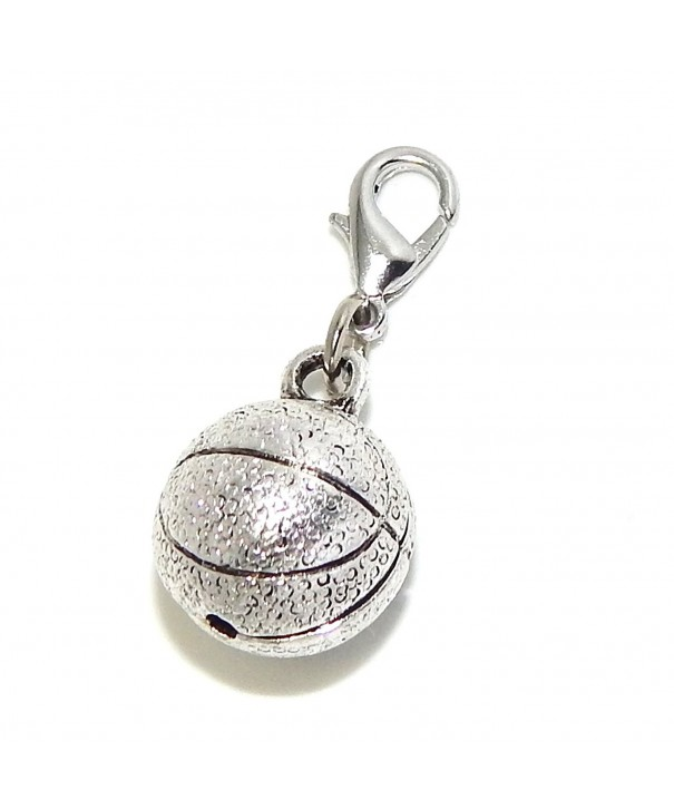 Pro Jewelry Clip Basketball Dangling