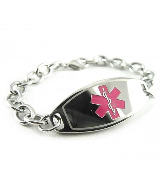 MyIDDr Womens Medical Bracelet LINK
